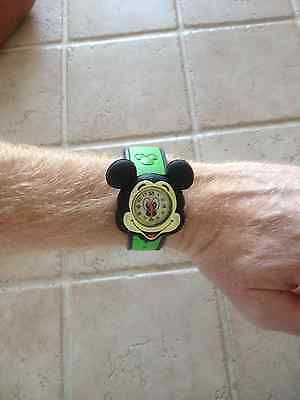 Disney MagicBand / Magic Band Mickey Mouse Watch Black New