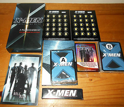 Marvel X-men Trading Card Game 2-player Starter Set, *UNUSED BUT OPENED*