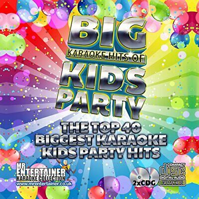 Mr Entertainer Big Karaoke Hits of Kids Party - Double CDG CDG Pack. Top 40 G