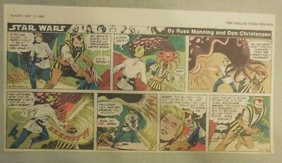 Star Wars Sunday Page #62 by Russ Manning from 5/11/1980 Third Page Size!