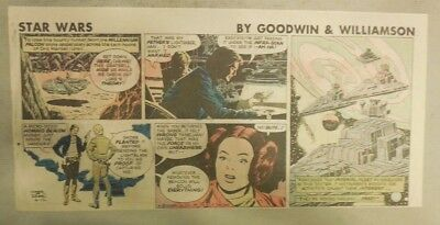 Star Wars Sunday Page by Al Williamson from 4/12/1981 Third Page Size!