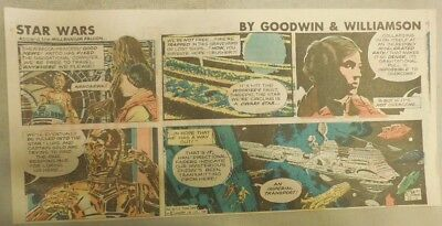 Star Wars Sunday Page by Al Williamson from 12/6/1981 Third Page Size!