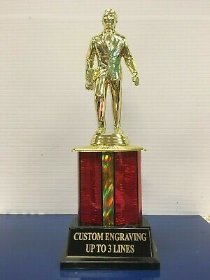 Dundie Trophy Award w/ custom engraving The Office Dundee 10 1/2""