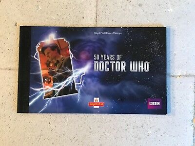Royal Mail 2013 Doctor Who ( 50 Years Of )  Prestige Stamp Book Dy6