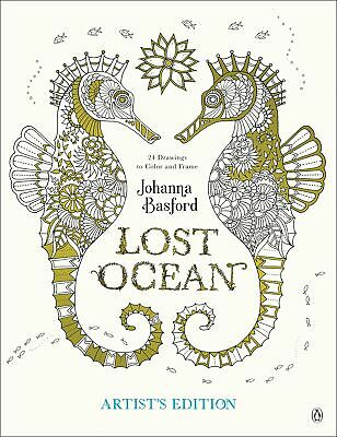 Lost Ocean Artists Edition An Inky Adventure and Coloring Book for Adults 24