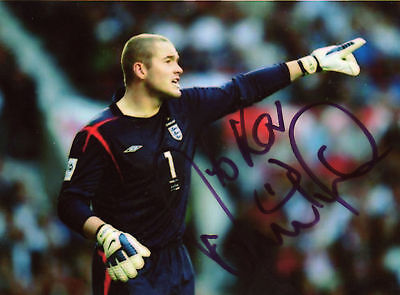 PAUL ROBINSON Signed 7x5 Photo ENGLAND & BLACKBURN ROVERS  COA
