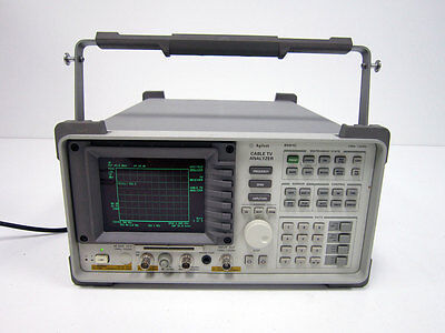 Agilent 8591C 1 Mhz - 1.8 Ghz Cable Tv Analyzer 107 Receiver Video ~ Hp Keysight