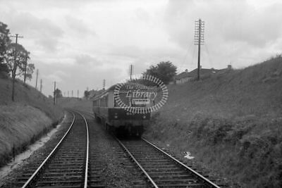 PHOTO GNR(I) Great Northern Railway (Ireland) Diesel Railcar 607 1955 Near Howth