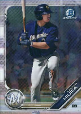 2019 Bowman Chrome Prospects #BCP54 Keston Hiura - NM-MT