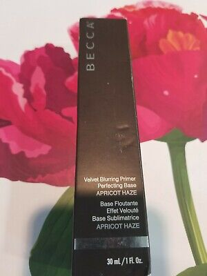 NEW Becca Velvet Blurring Primer Perfecting Base - Apricot  Haze 30ml Womens