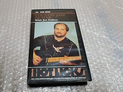 Joe Dalton - Country Jazz Guitar Instructional Video - Vhs