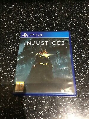 SONY PLAYSTATION 4 PS4 GAME Injustice 2