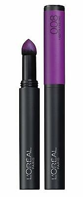 Loreal Infallible Matte Max Lipstick, 008 I Gotta Feeling, Purple Shade, New