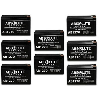 6 Pack New AB1270 12V 7AH UPS Battery for OneAC ON900