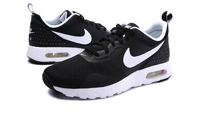 NIKE AIR MAX Tavas 844104 001 Black White Kids PS Shoes