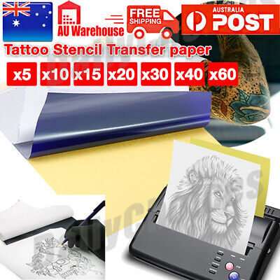 Tattoo Stencil Transfer Paper Spirit Thermal Carbon Tracing Copier Kit