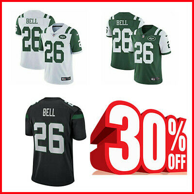 19dac7f7341 New York Jets #26 Le'Veon Bell Men's Stitched Jersey 2019 Free Shipping