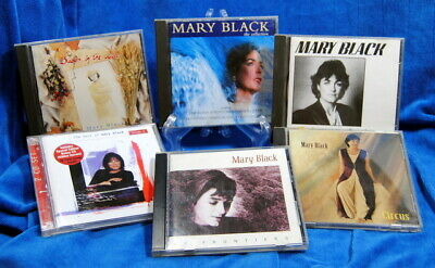Seven CD Mary Black Music Bundle Modern Irish Folk / Traditional & Contemporary