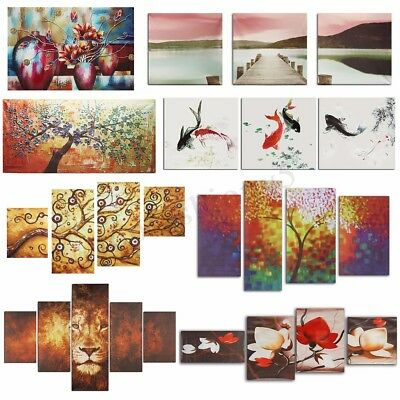 Unframed Modern Abstract Wall Art On Canvas Prints Picture Oil Painting Decor 1