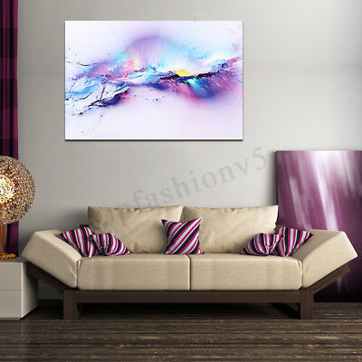 Abstract Cloud Colorful Love Painting Classical Canvas Print Wall Art Home