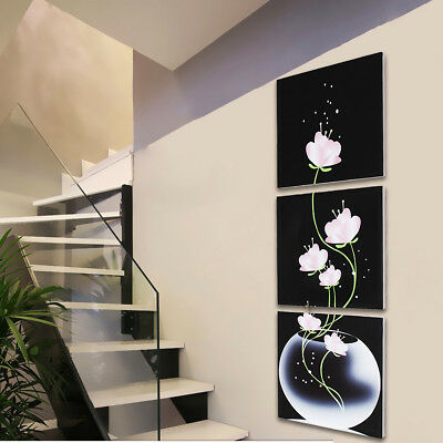 Modern 3 Panel Abstract Art Canvas Oil Painting Picture Prints Home Room