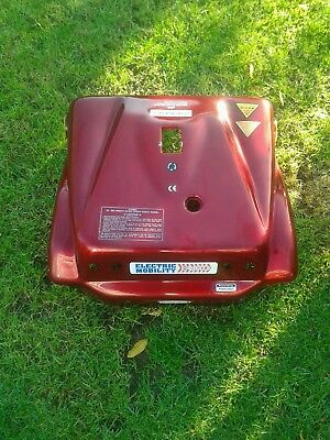 Rascal 388xl mobility  scooter rear panel plastic body metallic red