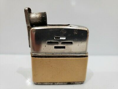 CHAMP-O-MATIC WORKING SEMI-AUTOMATIC PETROL LIGHTER - 1950s AUSTRIA MADE