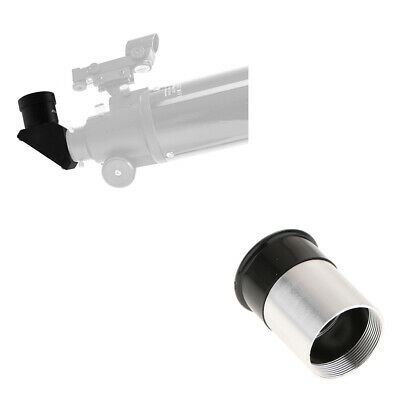 "0.965"" Astronomy Telescope Prism Mirror Diagonal Adapter w/ H6mm Eyepiece"