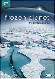 Frozen Planet - The Complete Series [DVD] - DVD The Cheap Fast Free Post uk