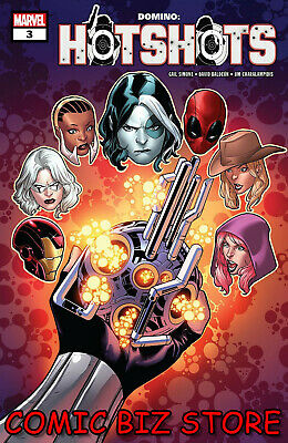 Domino Hotshots #3 (Of 5) (2019) 1St Printing Bagged & Boarded Marvel Comics