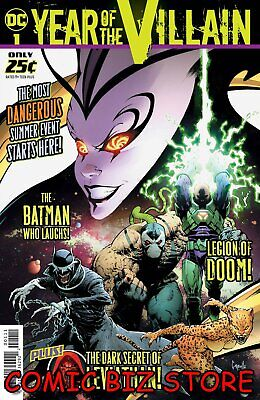 Dc's Year Of The Villain #1 (2019) 1St Printing Greg Capullo Main Cover