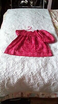 baby girls outfit dress and matching pants set age 18-24 months