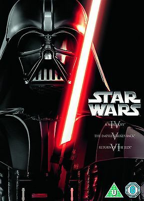 STAR WARS - The Original Film Movie Trilogy 1-3 (1 2 3) DVD NEW