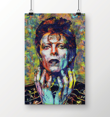 David Bowie Ziggy Stardust Collector Print 30x40cm12x16
