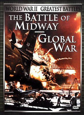 WWII: Greatest Battles: The Battle of Midway / Global War NEW DVD