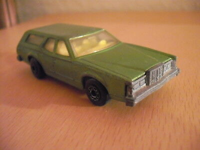 Matchbox Lesney Superfast No.74 Cougar Villager Rarität 1978 England vintage