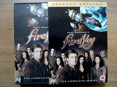 Firefly - The Complete Series Special Edition DVD 4 Disc Box Set *FREEPOST*