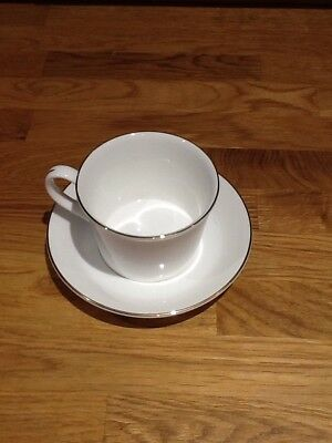 Wedgwood Delphi Gold X1 Tea Cup And Saucer.