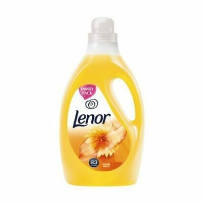 4 x Lenor Fabric Conditioner 2.9L Large 83 Washes Spring Yellow or Summer Blue