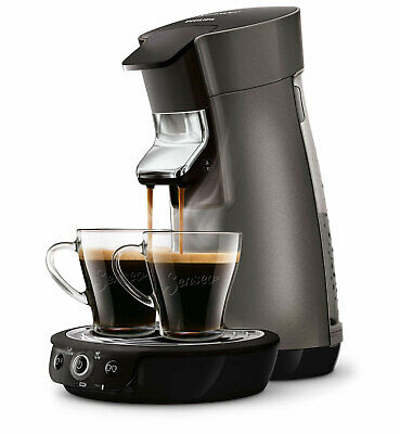 PHILIPS SENSEO Viva Café Plus Machine à Café à Dosettes 2 Tasses Cafetière