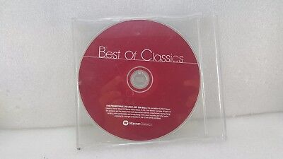 Best of classics warner classics  music PROMOTIONAL 2002 cd *FREE UK SHIPPING