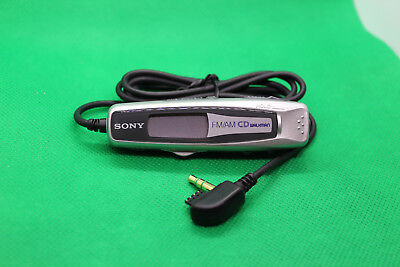 SONY RM-CDF7L IN-LINE REMOTE for CD PLAYERS WALKMAN, SILVER 147606211