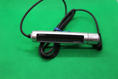 SONY RM-MC11EL IN-LINE REMOTE for MD MINIDISC PLAYERS WALKMAN, SILVER, 147639511