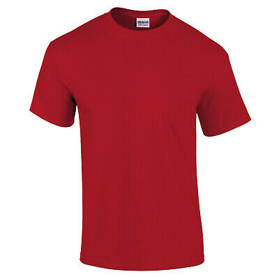 Gildan T-Shirt Heavy Cotton Men Women Adult T-Shirt