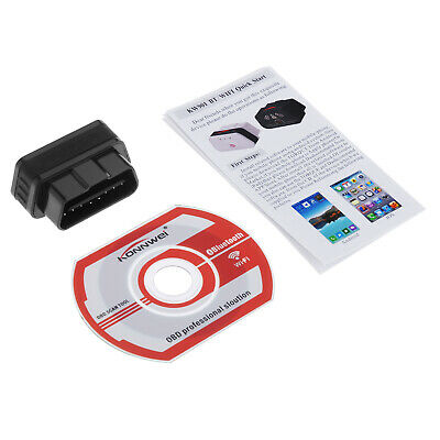 KW901 ELM327 Android IOS WIFI OBDII Car Fault Code Reader Diagnostique Scan B B5