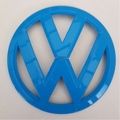 Vw Transporter T6 Front Grille Badge In Olympic Blue