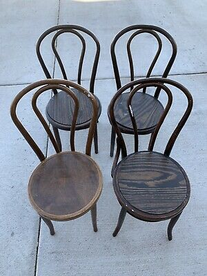 Bentwood ice cream parlor chairs