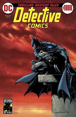 Detective Comics Vol 2 #1000 Cover F Variant Bernie Wrightson 1970s Cover