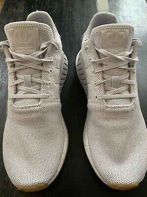 636683918aa1a Adidas Originals NMD R2 Grey White Gum Boost Running Shoes  CQ2403  Men s  10.5