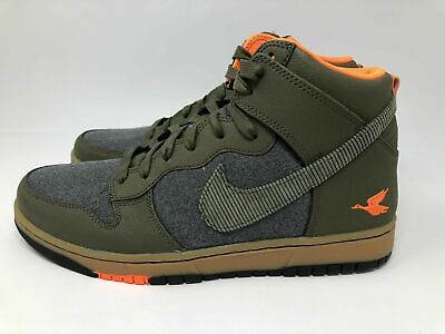 official photos f7c73 d3715 Nike Dunk Cmft Prm 705433-200 Swoosh Social Club Olive Duck Shoes Men s Sz  8.5